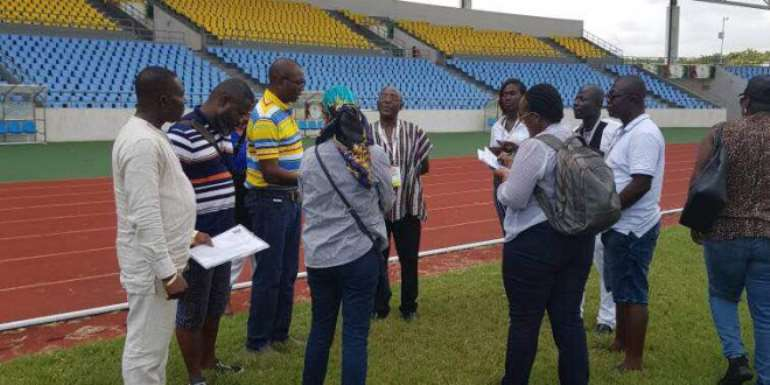 CAF Not Impressed With The State Of Accra Sports Stadium Ahead 2018 Africa Women Nations Cup