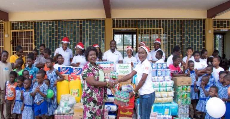 Osu Children's Home Receives Support From Karpowership Ghana