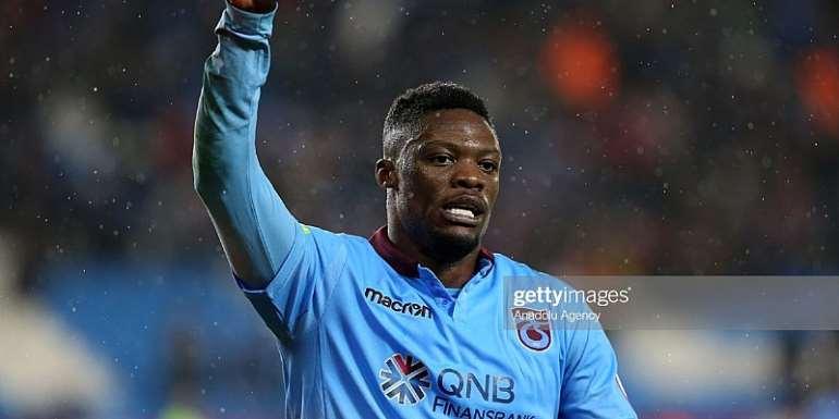Striker Caleb Ekuban Scores In Tranbzonspor's League Cup Win Over Altay