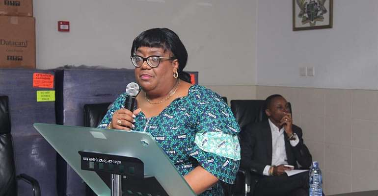 Dr. Lydia Selby, CEO of NHIS