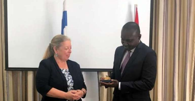 Israel, Ghana Hold First Political Talks