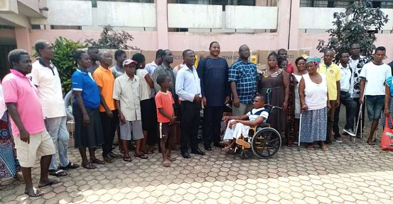Obuasi Municipal Assembly Makes 3rd Disbursement Of Disability Fund