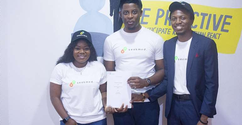 Former BBN Housemate, Seyi Awolowo Signs Endorsement Deal With SeekMed