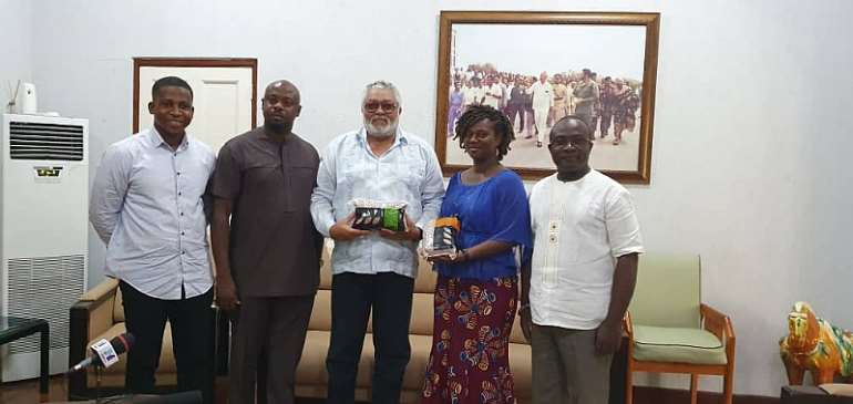 """""""Take The Ghana Rice Campaign To The International Community"""" - Rawlings"""
