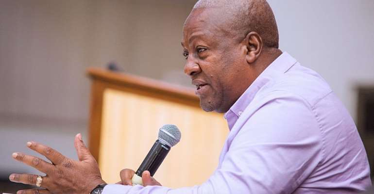 Mahama Wants Transparency In EC's Dealings With Parties Ahead Of 2020 Elections