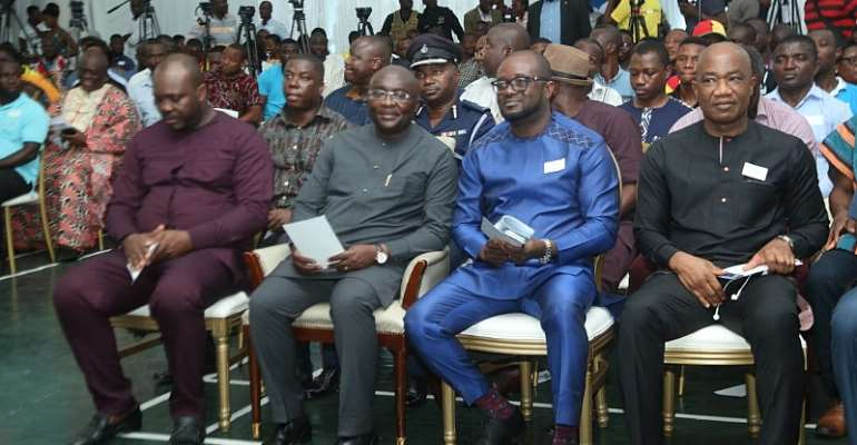 History Made As Ghana VEEP Graces Launch Of 2019/2020 Football Season