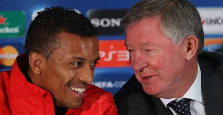 In England, You Can Be Drunk At Training And The Coach Doesn't Care! - Nani