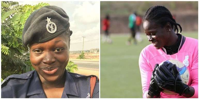 Black Queens Goalkeeper Promoted To Police Corporal