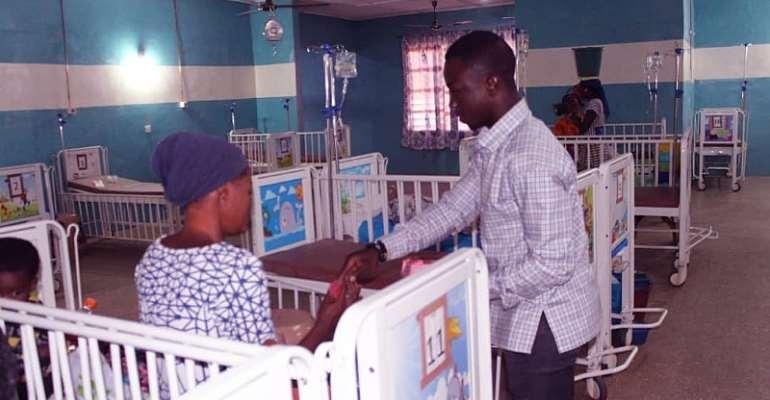 Nalerigu: NPP Communicator Fetes Patients And Staff Of Baptist Medical Center