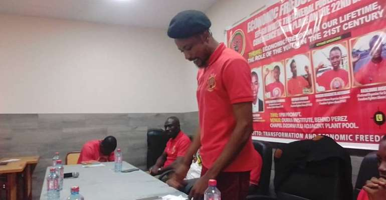 Statement From Economic Freedom Fighters Of Ghana