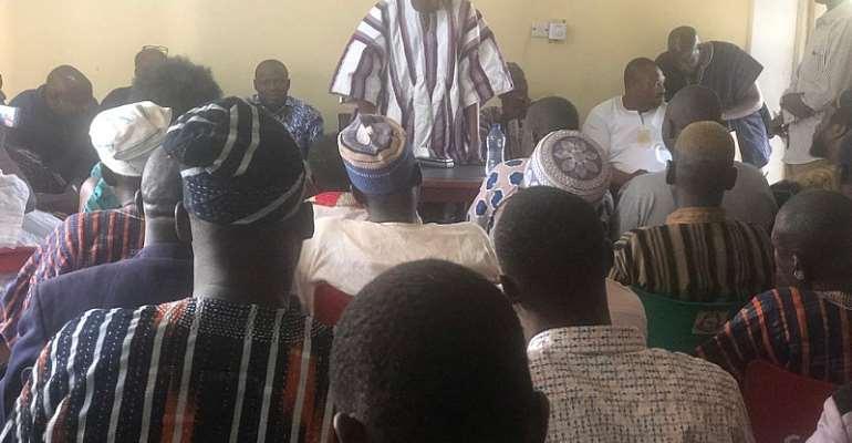Chairman Samba Of NPP Declares Operation 15 Seats