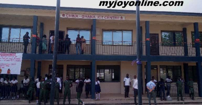 Ejisuman SHS Gets Refurbished ICT Lab From Chinese