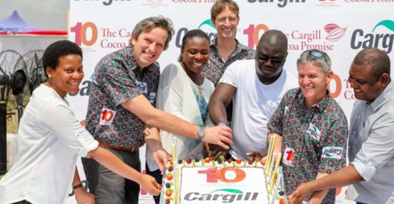 Cargill Ends 10th Anniversary With Family Day