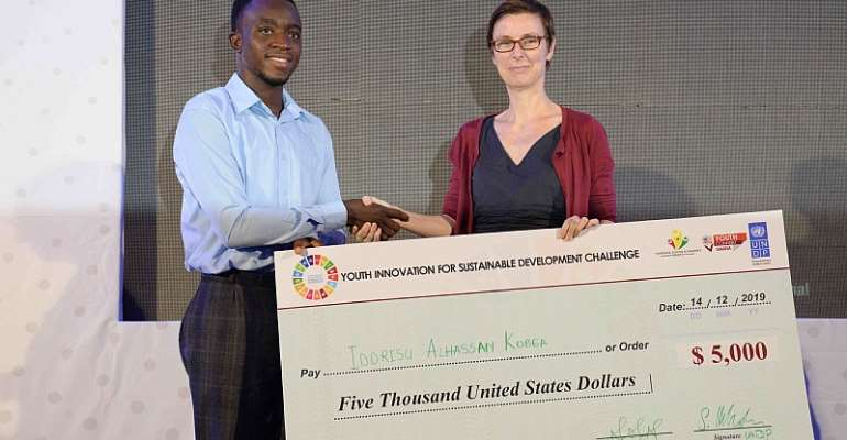UNDP And NYA Award $80,000 Grants To Support Young Innovators Under Ghana's YouthConnekt Platform