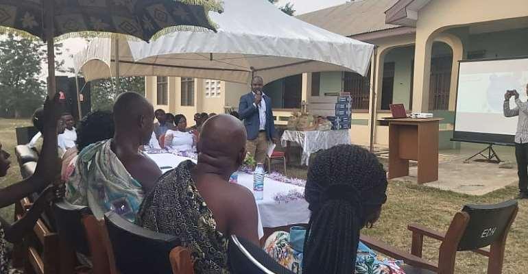 Sekyere East District Health Directorate Awards Staff