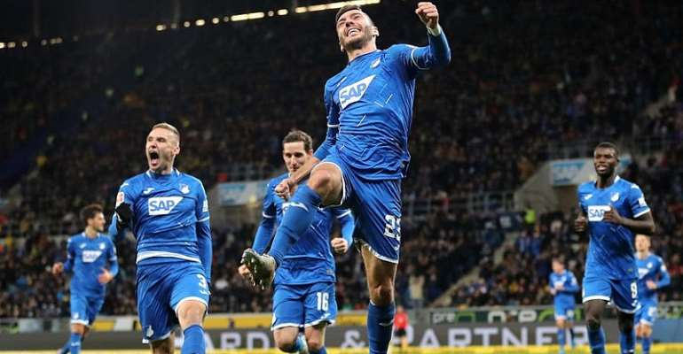 Bundesliga: Hoffenheim Stun Dortmund 2-1 With Late Comeback Win