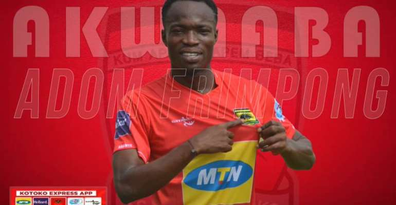 Kotoko Gives Details Of New Signing Kwame Adom