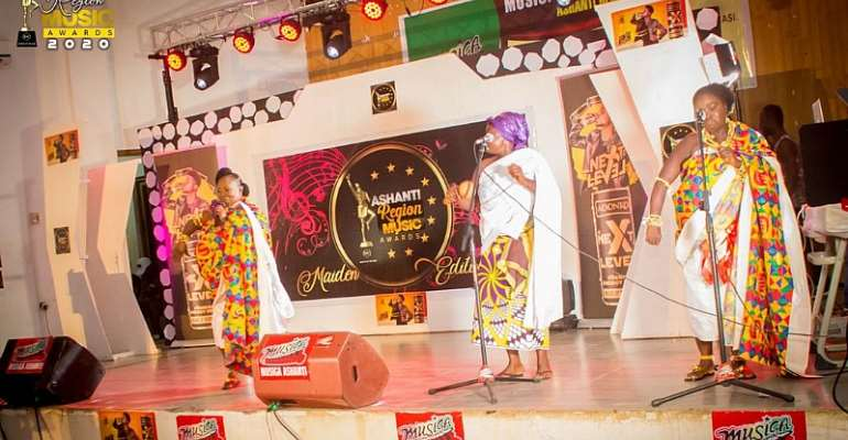 History was made as the Maiden Edition of Ashanti Music Awards ended in a grand style
