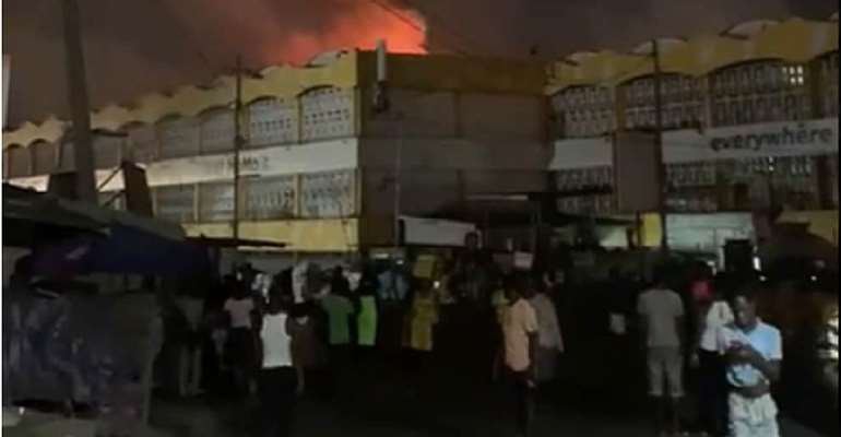 Kaneshie market fire: Affected traders to get temporary shops