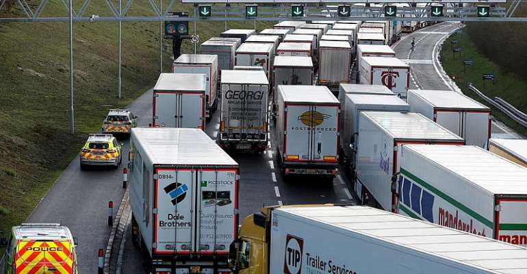 France blocks lorry freight from United Kingdom as part of travel ban