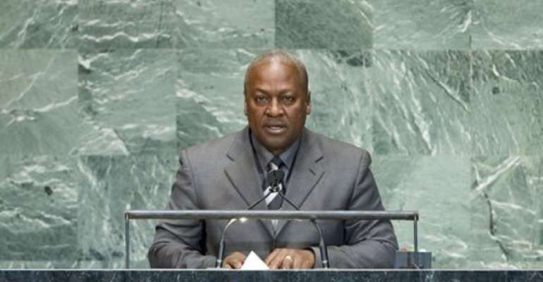 My UN appointment speaks volumes about Ghana's leadership - Mahama