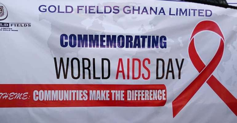 Gold Fields Ghana Marks World AIDS Day With Host Communities.