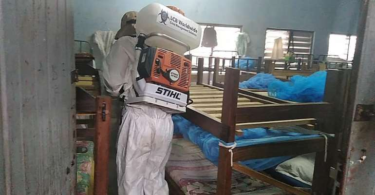 LCB Worldwide Ghana Begins Nationwide Fumigation Of Schools, Markets