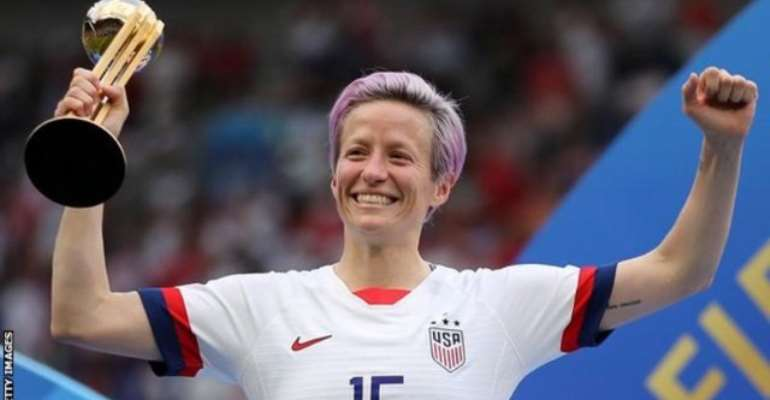 Megan Rapinoe Wins Women's Ballon d'Or, Lucy Bronze Second