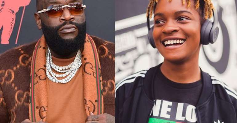 Rick Ross and Koffee