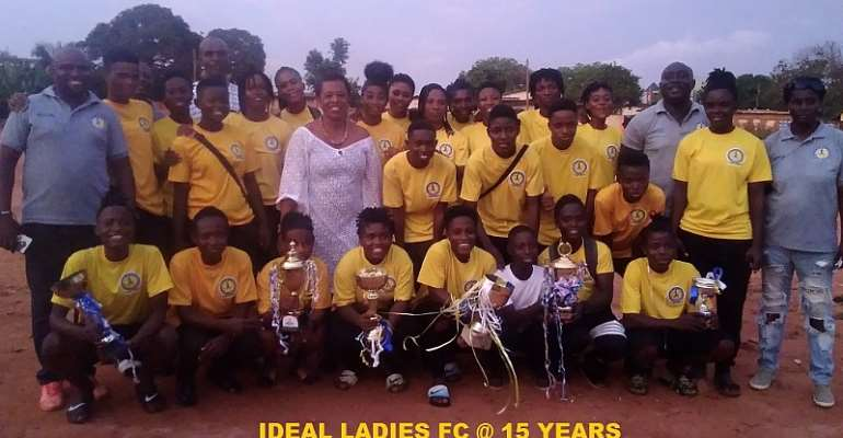 Ideal Ladies Celebrate 15 Years With New Fortitude To Be The Best Female Club In Ghana