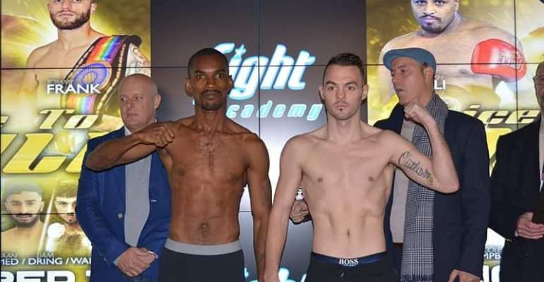Felix Williams Loses IBO International Featherweight Title In Controversial Decision