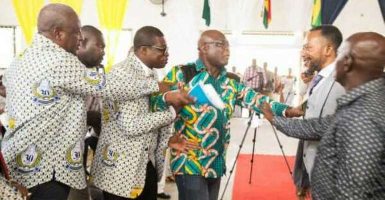Owusu Bempah Will Be Struck By Stroke The Next Time He Tries To Greet Mahama — NDC Group