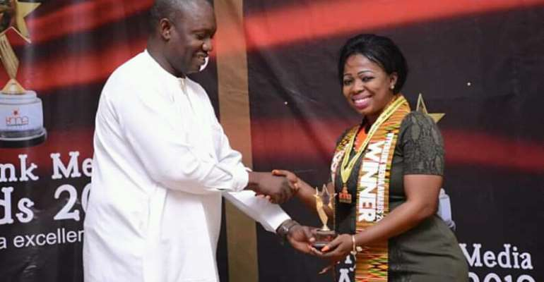 Audrey Akosua Tindana Is Media Personality Of The Year At Hyper Link Awards 2019
