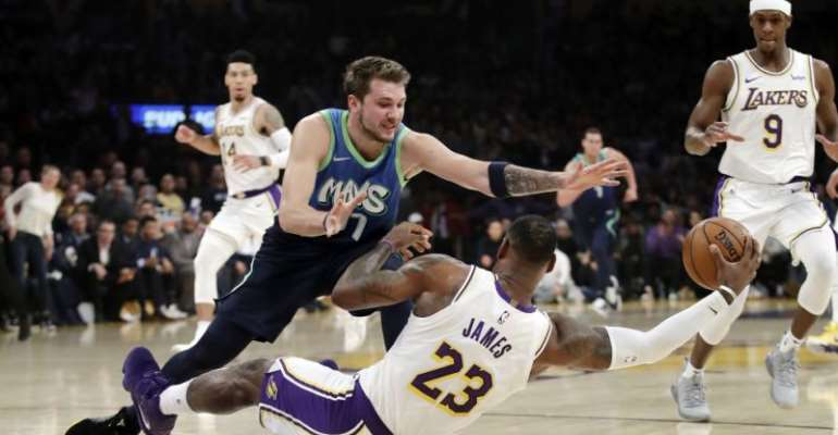 Doncic Leads As Mavericks Ends Lakers' Winning Streak