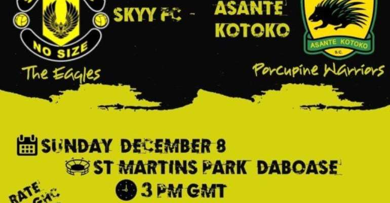 Asante Kotoko To Play Skyy FC In A friendly On December 7