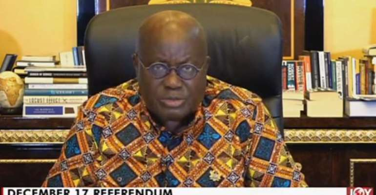 Anger Over Akufo-Addo's Withdrawal Of December Referendum Process