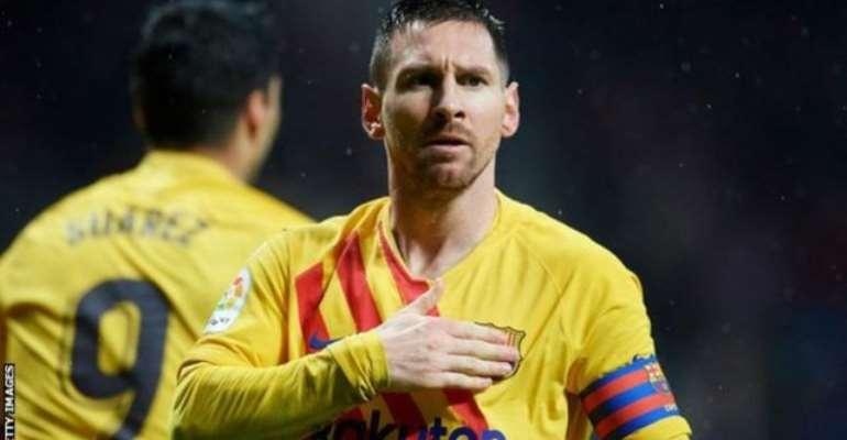La Liga: Late Messi Magic Sends Champions Top
