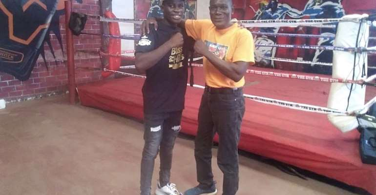 Alfred Lamptey (The New Sweet Pea) – A Boxer To Watch