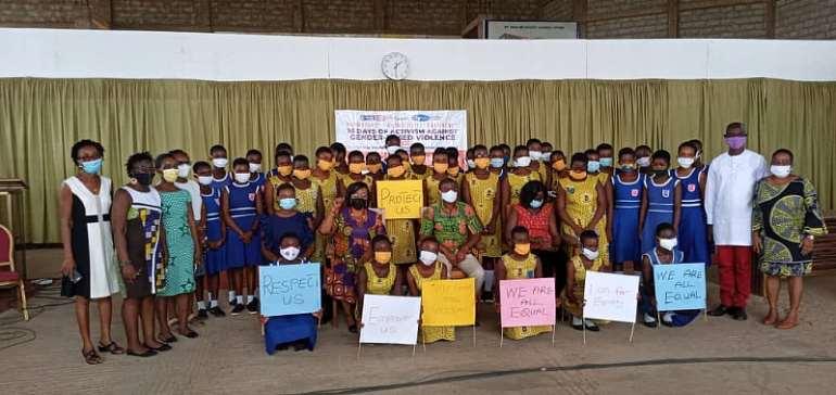 WOMEC marks 16 days of activism against gender based violence in Kpone