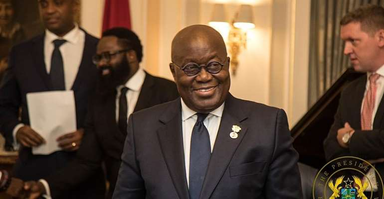 Akufo-Addo Woos UK Investors; 'Ghana Is An Ideal Place For Business