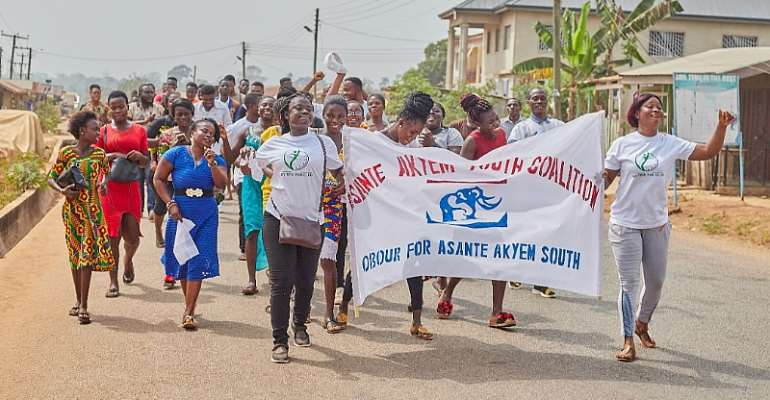 NPP Primaries: Asante Akyem South Constituency Youth Beg Obour To Contest