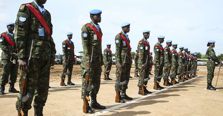 The UN peacekeeping mission in South Sudan. - Source: UN/Isaac Billy