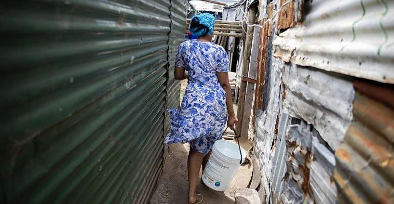 A typical informal settlement in South Africa. - Source: EFE-EPA/Nic Bothma