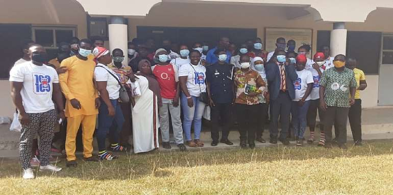 Atebubu: NCCE engages party youth activists in Atebubu ahead of Voting Day
