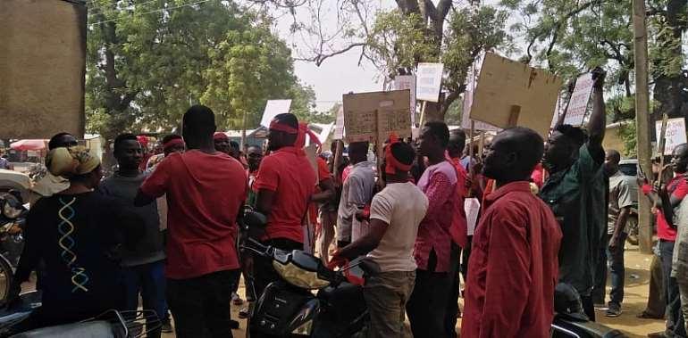 U/E/R: NDC Picket Against New Voters Register