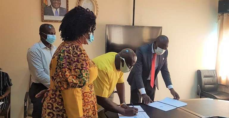 ILO SCORE Ghana signs MoU with MDPI to continue implementation of SCORE Phase-III