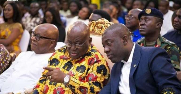 Thanks for reposing confidence in me — Oppong Nkrumah to Akufo-Addo