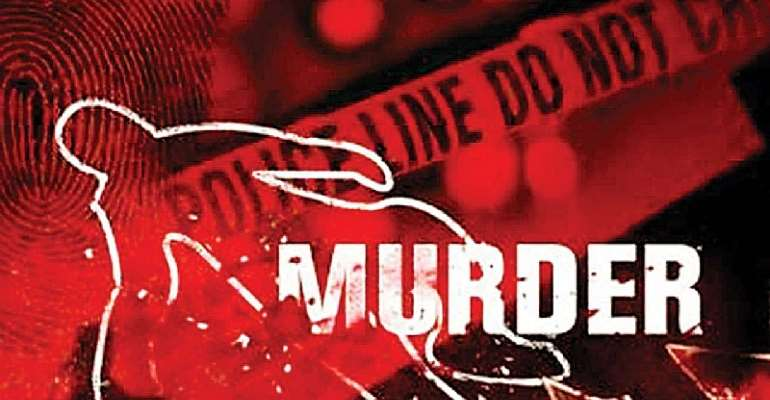 S/R: Man stabs his brother's wife to death; stabs one other, himself at Nabori