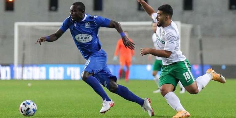 Isreal: Maccabi Petah Tikva star Elvis Sakyi targets victory over Ashdod