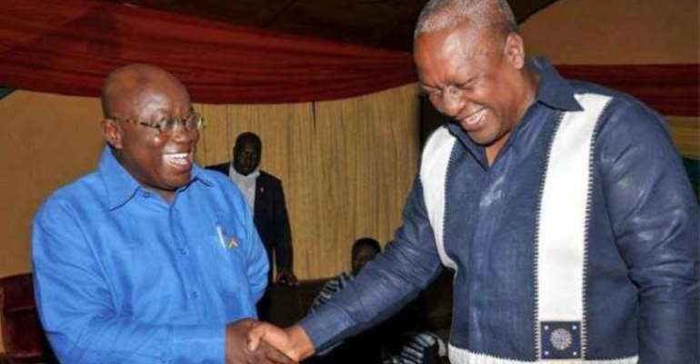 Nana Akufo Addo And John Mahama To Receive Nobel Peace Prize?